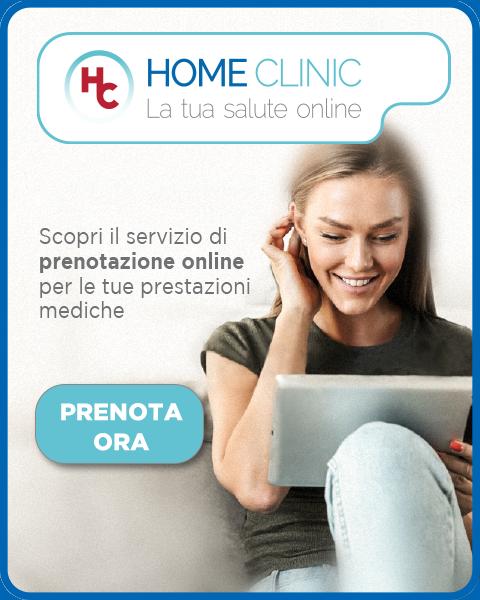 Prenota ora con Home Clinic - La tua salute online